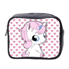 Baby Unicorn Mini Toiletries Bag 2 Side by Valentinaart