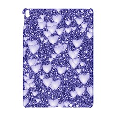 Hearts On Sparkling Glitter Print, Blue Apple Ipad Pro 10 5   Hardshell Case by MoreColorsinLife