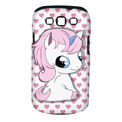 Baby Unicorn Samsung Galaxy S Iii Classic Hardshell Case (pc+silicone) by Valentinaart