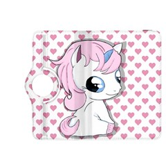 Baby Unicorn Kindle Fire Hdx 8 9  Flip 360 Case by Valentinaart