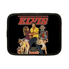 Elvis Presley Netbook Case (small)  by Valentinaart