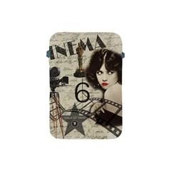 Vintage Cinema Apple Ipad Mini Protective Soft Cases by Valentinaart