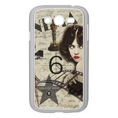 Vintage Cinema Samsung Galaxy Grand Duos I9082 Case (white) by Valentinaart