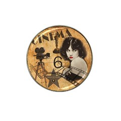 Vintage Cinema Hat Clip Ball Marker (4 Pack) by Valentinaart