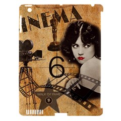 Vintage Cinema Apple Ipad 3/4 Hardshell Case (compatible With Smart Cover) by Valentinaart