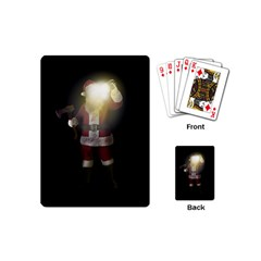 Santa Killer Playing Cards (mini)  by Valentinaart