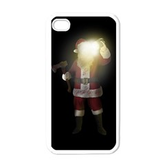 Santa Killer Apple Iphone 4 Case (white) by Valentinaart