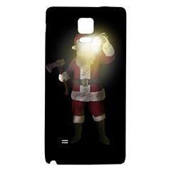 Santa Killer Galaxy Note 4 Back Case by Valentinaart