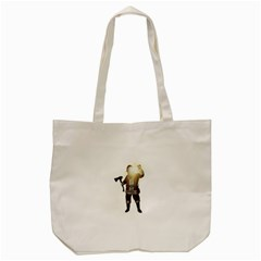 Santa Killer Tote Bag (cream) by Valentinaart