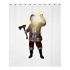 Santa Killer Shower Curtain 60  X 72  (medium)  by Valentinaart