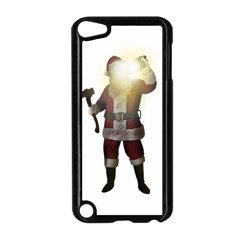Santa Killer Apple Ipod Touch 5 Case (black) by Valentinaart
