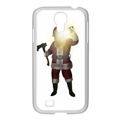 Santa Killer Samsung Galaxy S4 I9500/ I9505 Case (white) by Valentinaart