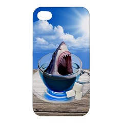Cup Of Tea Apple Iphone 4/4s Premium Hardshell Case by Valentinaart