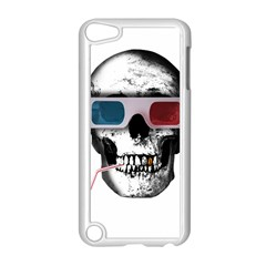 Cinema Skull Apple Ipod Touch 5 Case (white) by Valentinaart