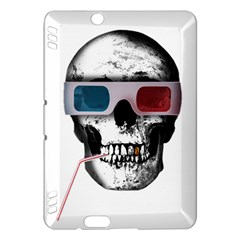 Cinema Skull Kindle Fire Hdx Hardshell Case by Valentinaart