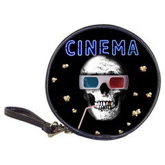 Cinema Skull Classic 20 Cd Wallets by Valentinaart