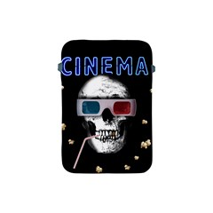 Cinema Skull Apple Ipad Mini Protective Soft Cases by Valentinaart