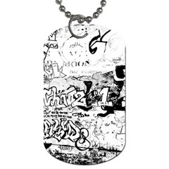 Graffiti Dog Tag (two Sides) by Valentinaart