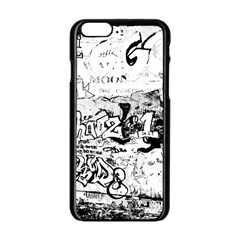 Graffiti Apple Iphone 6/6s Black Enamel Case by Valentinaart
