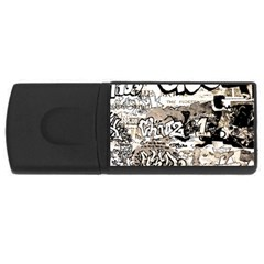 Graffiti Rectangular Usb Flash Drive by Valentinaart