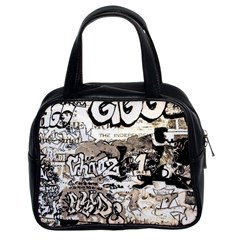 Graffiti Classic Handbags (2 Sides) by Valentinaart