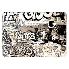 Graffiti Samsung Galaxy Tab 8 9  P7300 Flip Case by Valentinaart