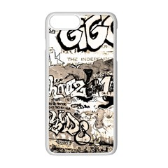 Graffiti Apple Iphone 8 Plus Seamless Case (white) by Valentinaart