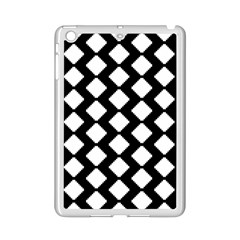 Abstract Tile Pattern Black White Triangle Plaid Ipad Mini 2 Enamel Coated Cases by Alisyart
