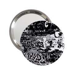 Graffiti 2 25  Handbag Mirrors by Valentinaart