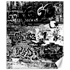 Graffiti Canvas 8  X 10  by Valentinaart