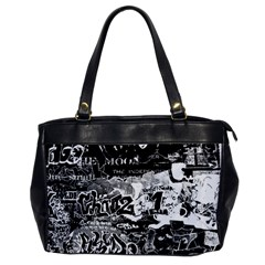 Graffiti Office Handbags by Valentinaart