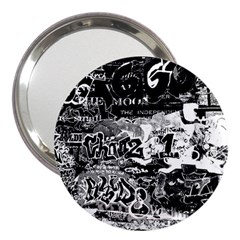 Graffiti 3  Handbag Mirrors by Valentinaart