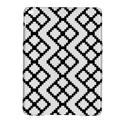 Abstract Tile Pattern Black White Triangle Plaid Chevron Ipad Air 2 Hardshell Cases by Alisyart