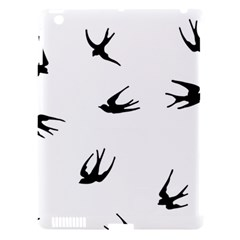 Black Bird Fly Sky Apple Ipad 3/4 Hardshell Case (compatible With Smart Cover) by Alisyart