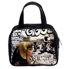 Cleopatra Classic Handbags (2 Sides) by Valentinaart