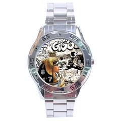 Cleopatra Stainless Steel Analogue Watch by Valentinaart