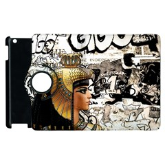 Cleopatra Apple Ipad 3/4 Flip 360 Case by Valentinaart