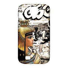Cleopatra Samsung Galaxy S4 Classic Hardshell Case (pc+silicone) by Valentinaart