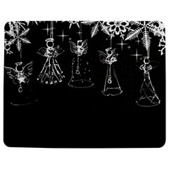 Christmas Angels Star Blue Jigsaw Puzzle Photo Stand (rectangular) by Alisyart