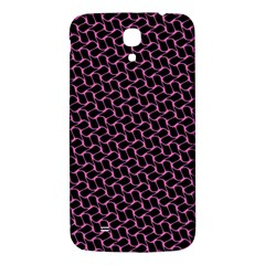 Twisted Mesh Pattern Purple Black Samsung Galaxy Mega I9200 Hardshell Back Case by Alisyart