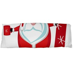 Christmas Santa Claus Body Pillow Case Dakimakura (two Sides) by Alisyart