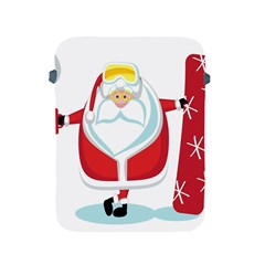 Christmas Santa Claus Apple Ipad 2/3/4 Protective Soft Cases by Alisyart