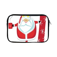 Christmas Santa Claus Apple Ipad Mini Zipper Cases by Alisyart