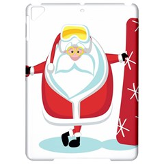 Christmas Santa Claus Apple Ipad Pro 9 7   Hardshell Case by Alisyart
