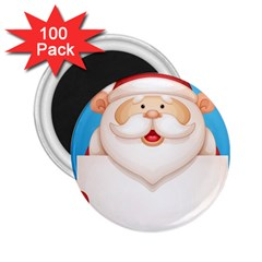 Christmas Santa Claus Letter 2 25  Magnets (100 Pack)  by Alisyart