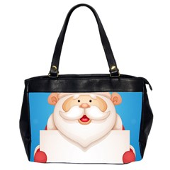 Christmas Santa Claus Letter Office Handbags (2 Sides)  by Alisyart