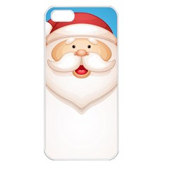 Christmas Santa Claus Letter Apple Iphone 5 Seamless Case (white) by Alisyart