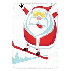 Christmas Santa Claus Playing Sky Snow Flap Covers (s)  by Alisyart