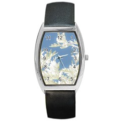 Nature Pattern Barrel Style Metal Watch by dflcprintsclothing