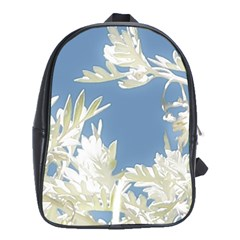 Nature Pattern School Bag (xl) by dflcprintsclothing